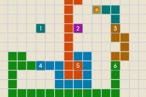 《移动的数字方块》游戏画面1