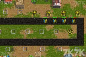 《坦克塔防大战》游戏画面2