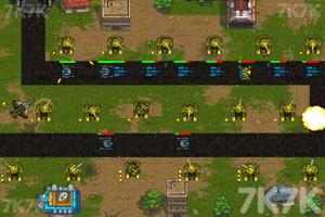 《坦克塔防大战》游戏画面1