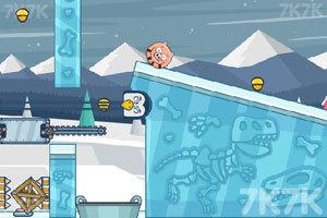 《水坑里的小猪3》游戏画面1