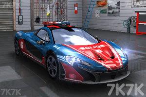 《迪拜警車競速賽》游戲畫面2
