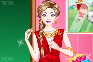 《时尚的女老师》游戏画面1