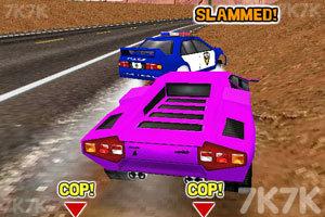 《3D超音速赛车无敌版》游戏画面1