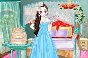 《森迪公主的寒假派对》游戏画面3