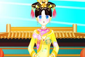 《美丽格格过大年》游戏画面1