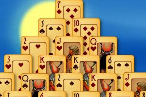 《埃及纸牌》游戏画面1