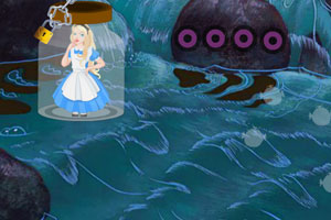 爱丽丝梦游仙境逃生