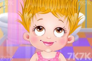 《可爱宝贝的漂亮发型》游戏画面1