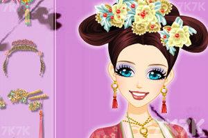 《中国古典发型》游戏画面1
