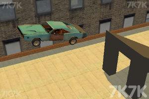 《屋顶特技飞车》游戏画面1