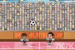 《足球大联盟情人节版无敌版》游戏画面2