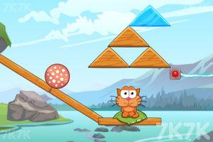 《贪吃猫吃遍冰河世界》游戏画面2