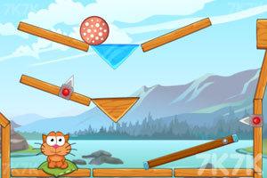 《贪吃猫吃遍冰河世界》游戏画面4