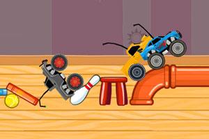 《遥控大脚车竞速》游戏画面1