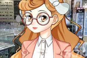 《眼镜萌娘》游戏画面3