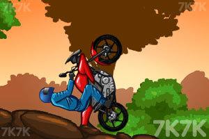 《摩托森林挑战2》游戏画面3