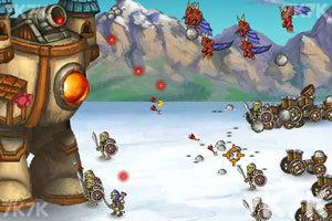 《移动的城堡无敌版》游戏画面1