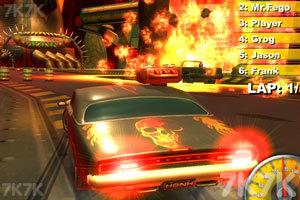 《暴力飙车》游戏画面2