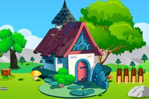 《女孩逃出花园洋房》游戏画面1