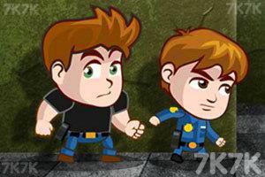 《警局双雄》游戏画面1