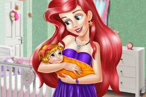 《爱丽儿布置婴儿房》游戏画面1