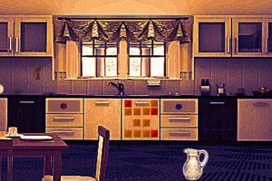 《阴暗的客厅逃脱》游戏画面1