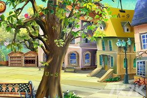 《逃离小镇广场》游戏画面3