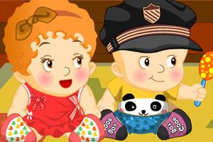 《可爱宝宝换装》游戏画面1