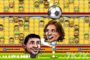 《西班牙足球联赛》游戏画面1