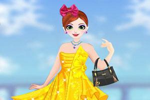 甜心公主夏日装扮