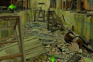 《逃离城堡的院子》游戏画面1