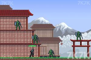 《忍者突袭无敌版》游戏画面3