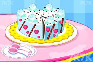 《好吃的巧克力蛋糕》游戏画面1