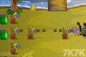 《水果保卫战僵尸版3》游戏画面3