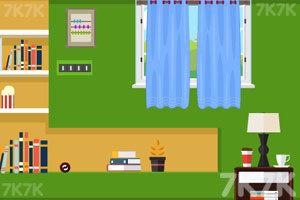 《绿色房间逃出》游戏画面2