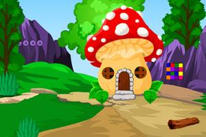 《兔子逃离蘑菇小屋》游戏画面1
