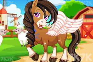 《可爱小马的妩媚造型2》游戏画面1