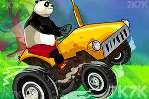 《熊猫运输车》游戏画面1