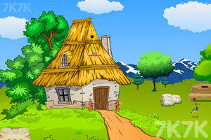 《小男孩逃出山村》游戏画面1
