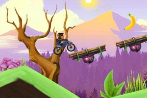 《小猴子摩托挑战2》游戏画面1