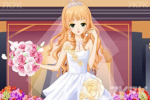《漂亮新娘妆》游戏画面1