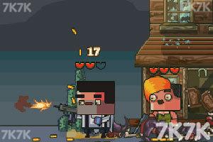 《西部保卫者无敌版》游戏画面1