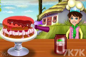 《玫瑰海绵蛋糕》游戏画面3