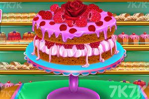 《玫瑰海绵蛋糕》游戏画面1