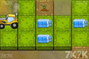 《为小树浇水》游戏画面2
