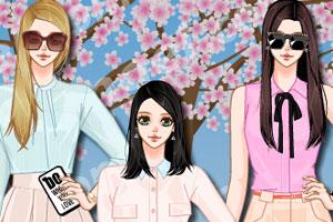 韩国樱花季