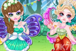 《童话公主夏季派对》游戏画面2