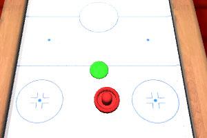 《桌面曲棍球3D》游戏画面1