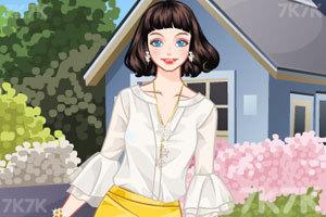 《夏季雪纺衣》游戏画面1