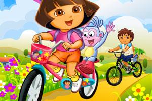 朵拉自行车赛